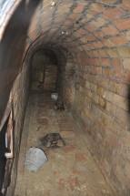 Vista de l'accés al refugi des de l'interior. Foto cedida per l'Ajuntament