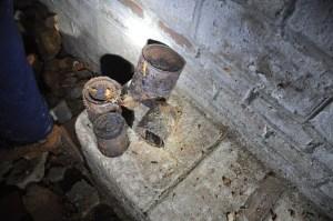 Objectes trobats a l'interior del refugi