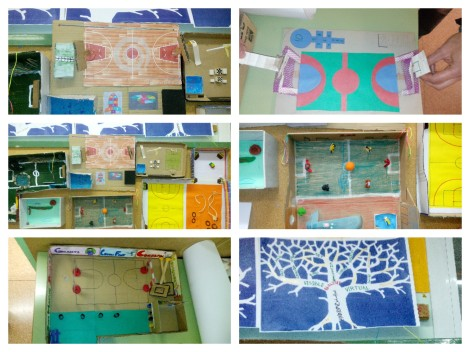 Collage amb maquetes