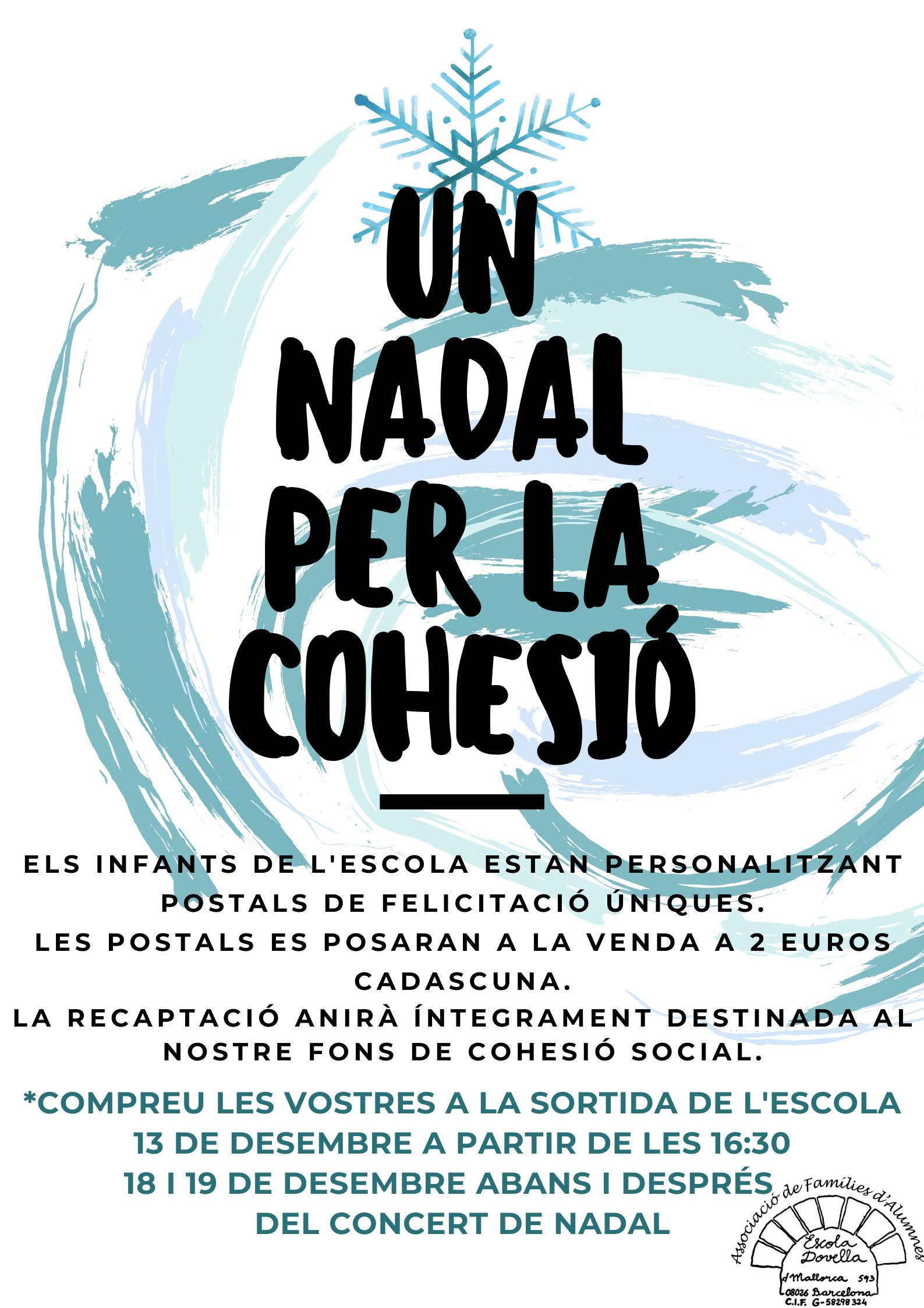 UN NADAL PER LA COHESIÓ_cartell